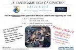 Pozvánka SK na 3. ročník lasergame